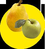 Яблоко / Груша